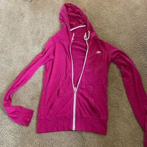 SIZE SMALL NIKE ZIP UP!!'